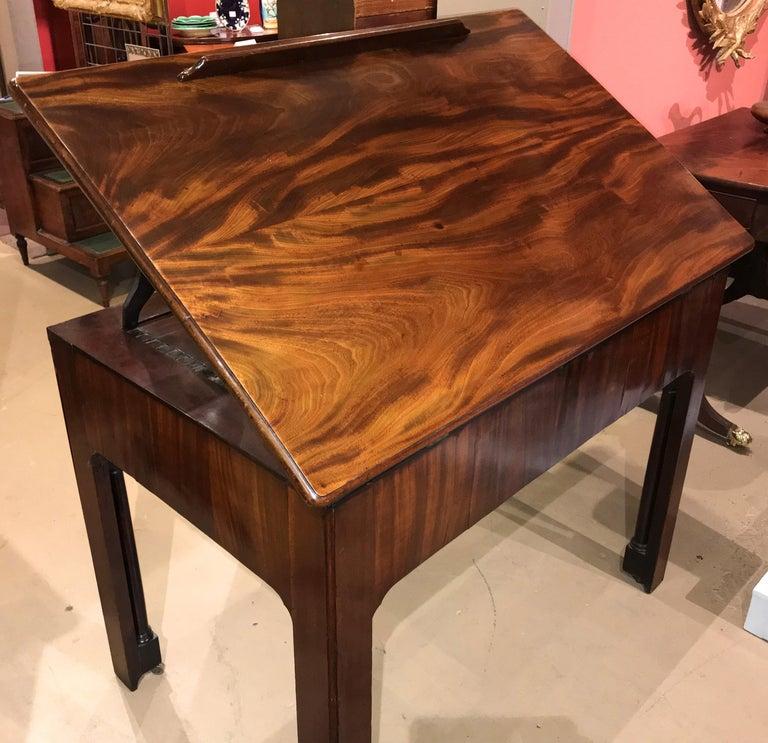 English Chippendale Mahogany Architect's Desk or Design Table, circa 1780 For Sale 10