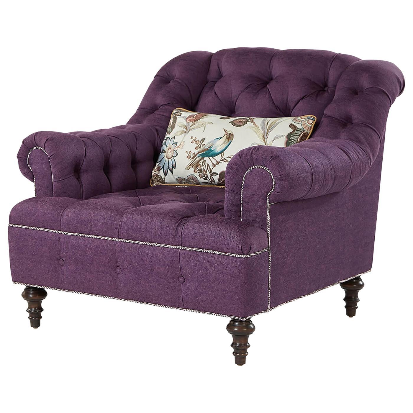 English Classic Tufted Club Chair