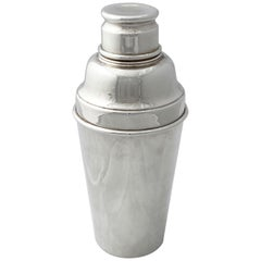 English Cocktail or Martini Shaker from the Art Deco Era by Angora