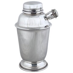 English Cocktail or Martini Shaker from the Art Deco Period