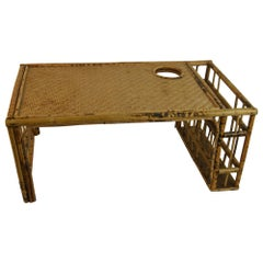 English Colonial Bamboo Bed Tray/Laptop Holder