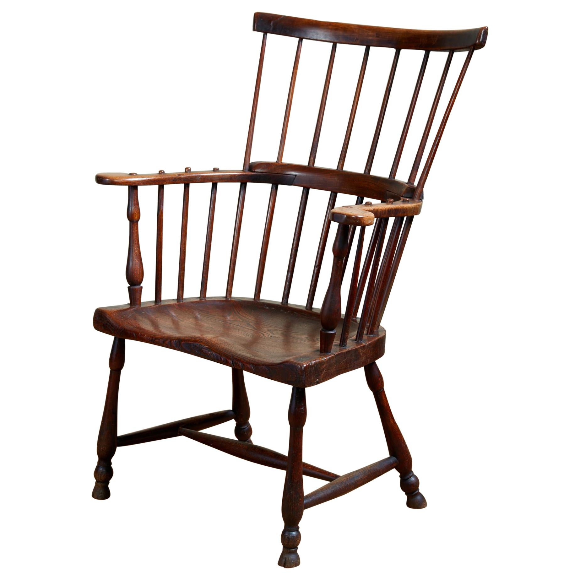 English Comb Back Windsor Armchair