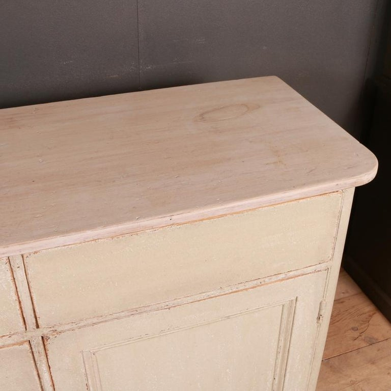 George III English Country Dresser Base For Sale