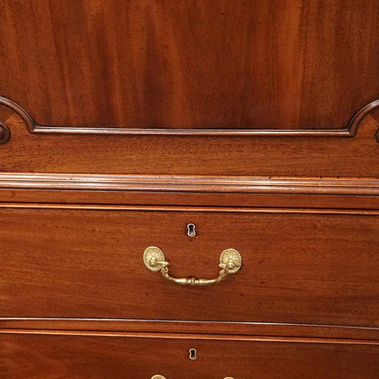 English Country House George III Mahogany Cupboard Press, circa 1795 For Sale 4