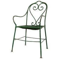 English Country House, Regency Garden Chair, circa 1815