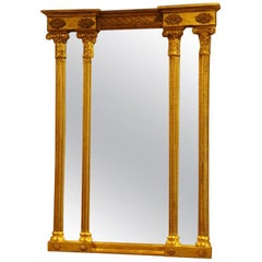 English Country House Regency Gilt Pier Mirror