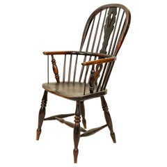 English Country Windsor Armchair