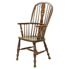 English Country Windsor Spindle Armchair