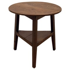 English Cricket Table of Oak