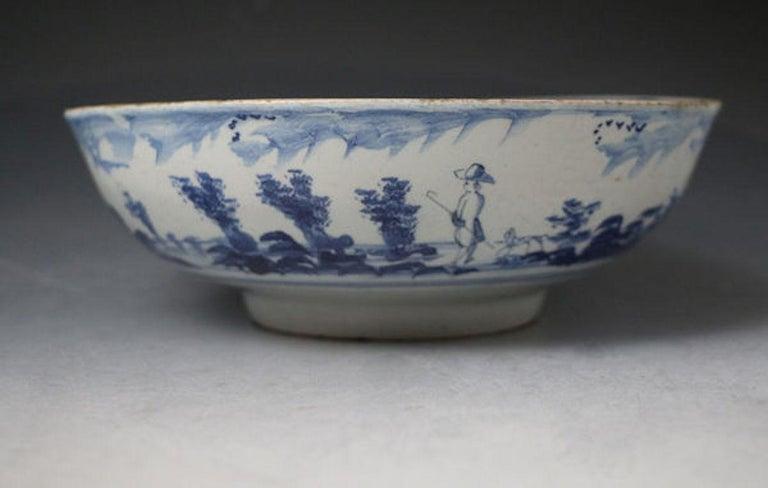 English delftware bowl