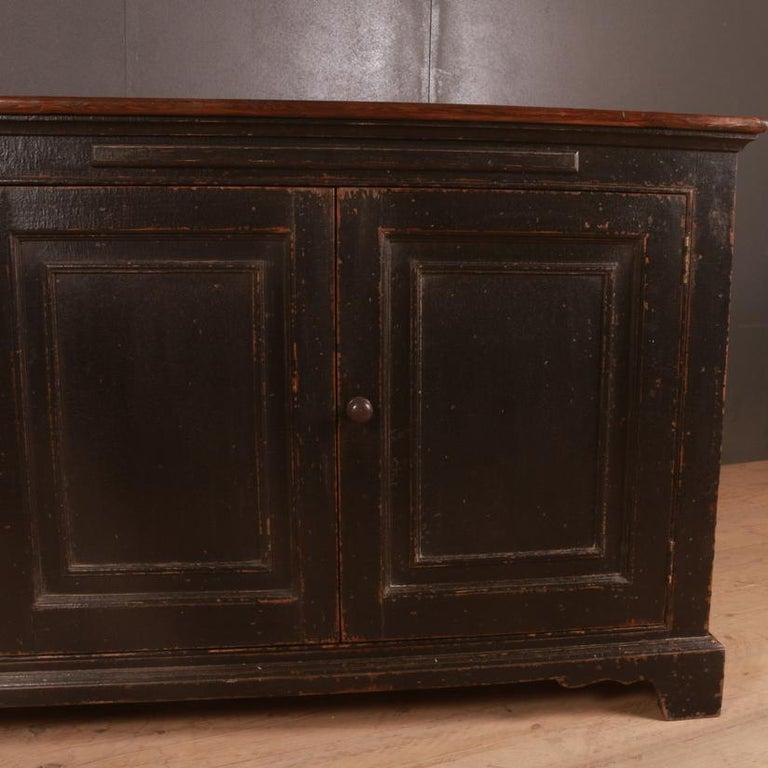 Victorian English Dresser Base For Sale