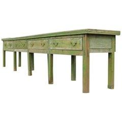 English Dresser Base