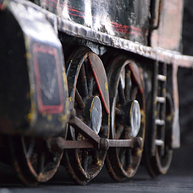 English Early 20th Century Amazing Scratch Built Locomotive For Sale 2