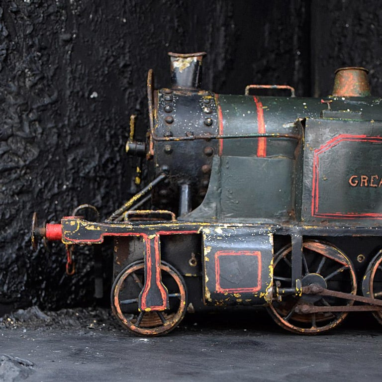 English Early 20th Century Amazing Scratch Built Locomotive For Sale 3