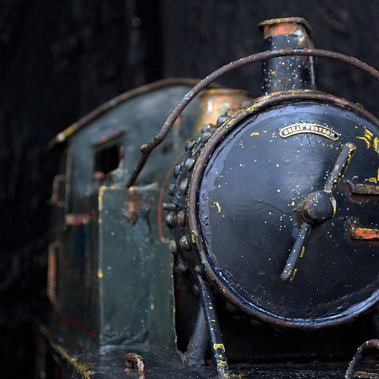 Mid-20th Century English Early 20th Century Amazing Scratch Built Locomotive For Sale