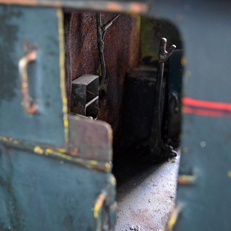 Folk Art English Early 20th Century Amazing Scratch Built Locomotive For Sale