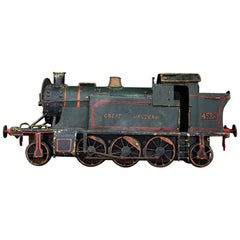 English Early 20th Century Amazing Scratch Built Locomotive