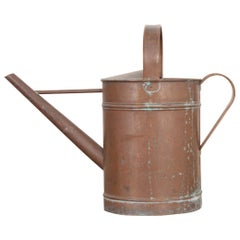 English Early 20th Century Copper Watering Can