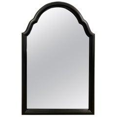 English Ebonized Chippendale Style Mirror