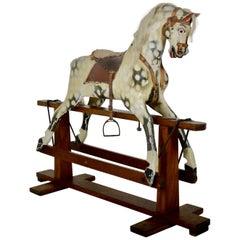 English Edwardian Rocking Horse