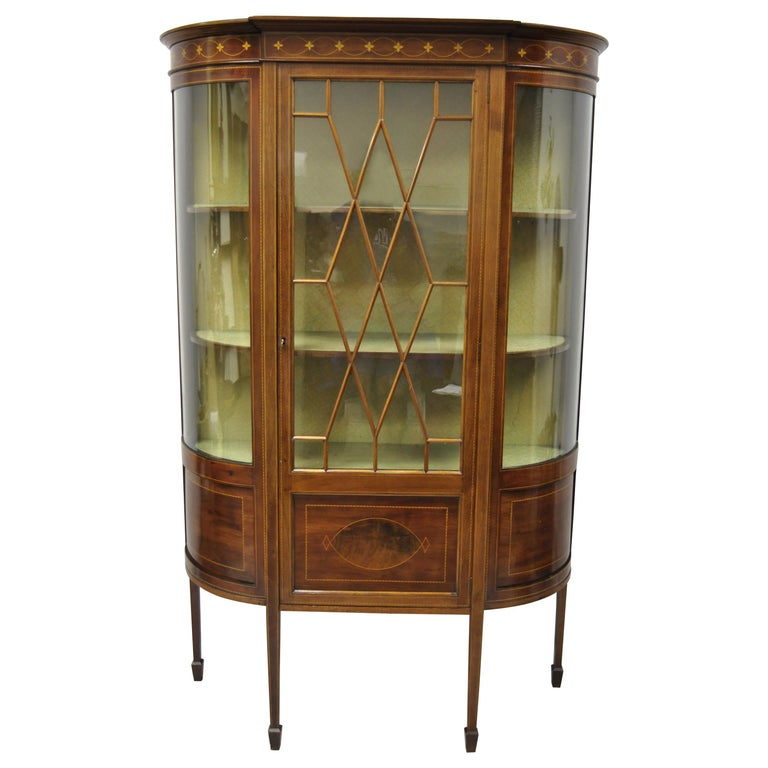 China Cabinet Glass 112 For On, Short China Cabinet