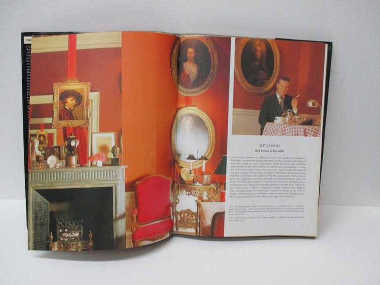 British Colonial English Elegance Hardcover Decoration Book For Sale