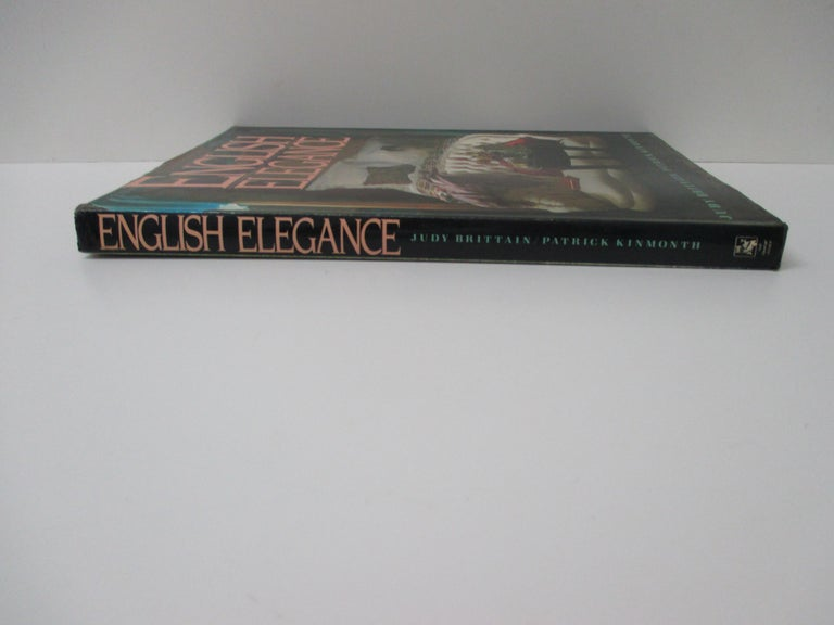 English Elegance Hardcover Decoration Book In Good Condition For Sale In Oakland Park, FL