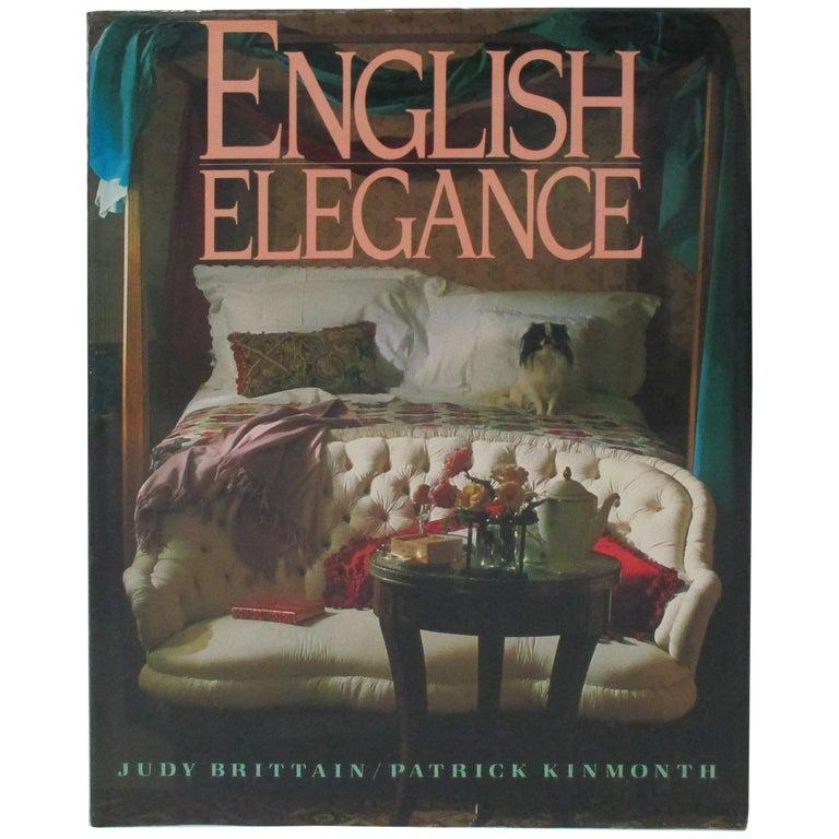 English Elegance Hardcover Decoration Book For Sale