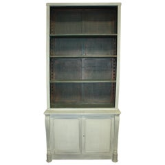 English Empire Style Painted Cabinet Bibus