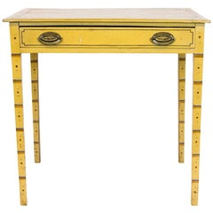 English Faux Painted Table
