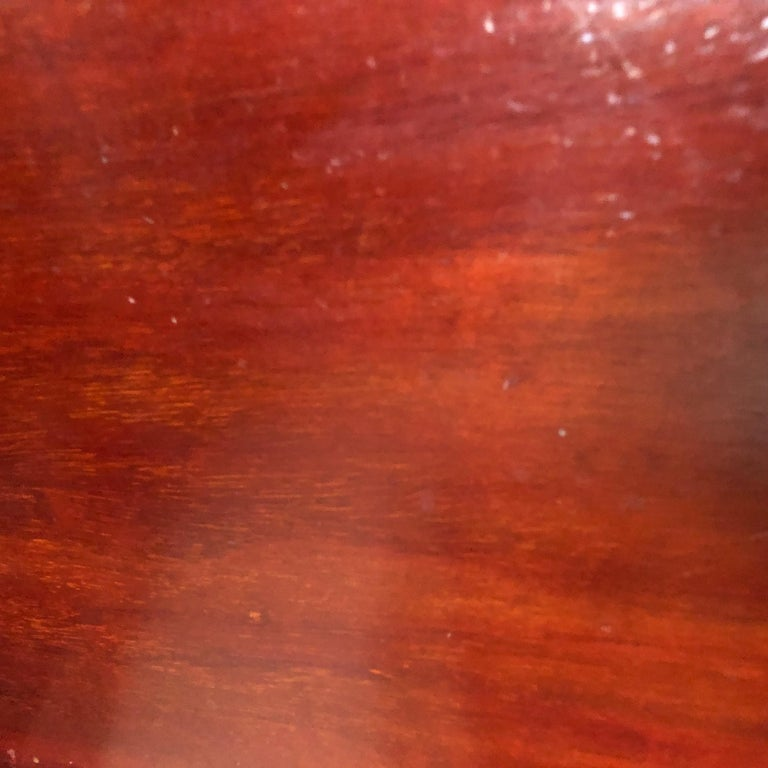 English Fine Antique Arts & Crafts Cotswold Mahogany Cabinet For Sale 2