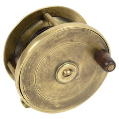English Fishing Reel Made in the Early 1900s