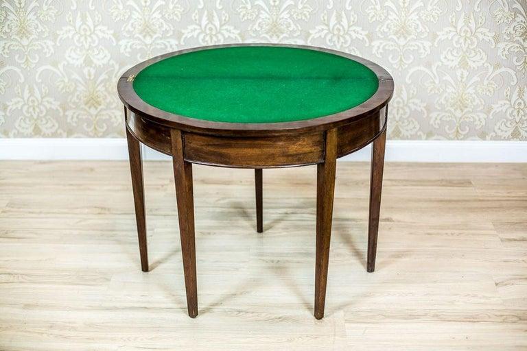 english foldout card table circa 1870 at 1stdibs