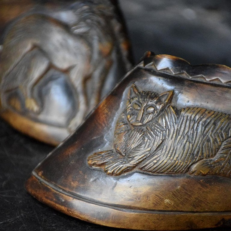 English Folk Art Carved Hooves, circa 1850 For Sale 3