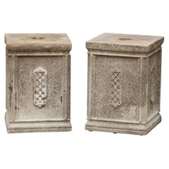 English Garden Stone Pedestals or Planter Plinths 'Individually Priced'