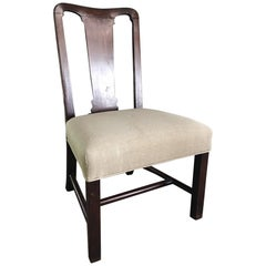 English George II Chippendale Chair, 18th Century