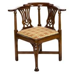 English George II Corner Chair