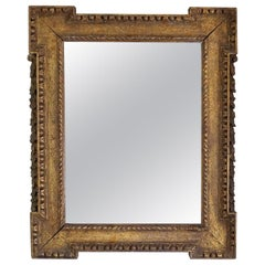 English George II Giltwood Mirror in the Manner of William Kent, circa 1740