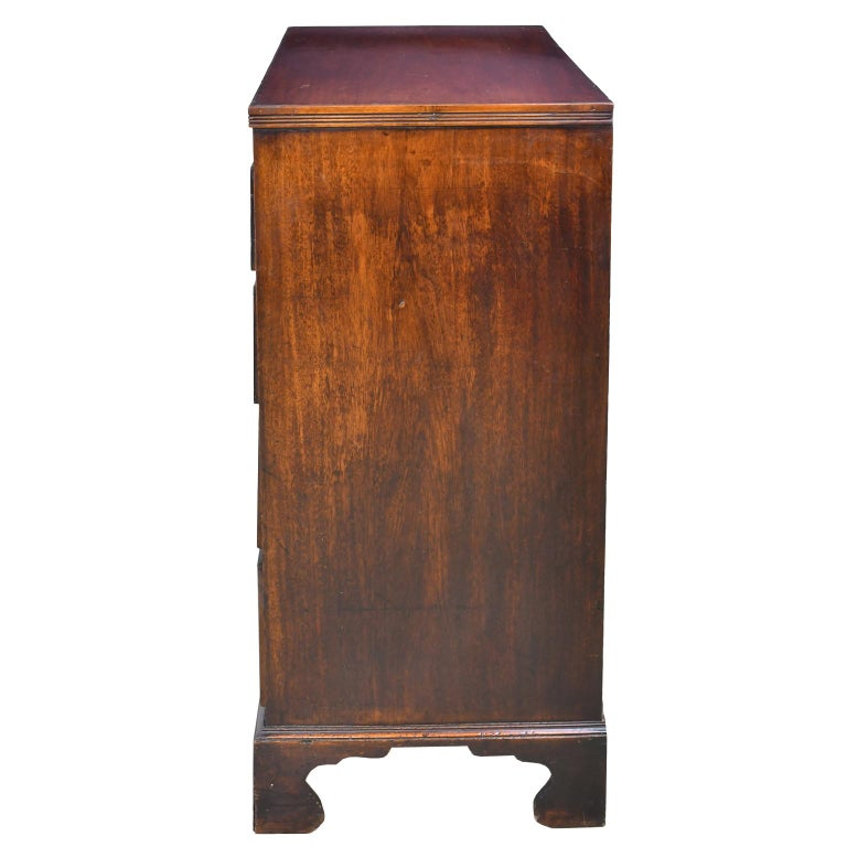 Late 18th Century English George III Bachelor's Chest of Drawers with Brushing Slide, circa 1775 For Sale