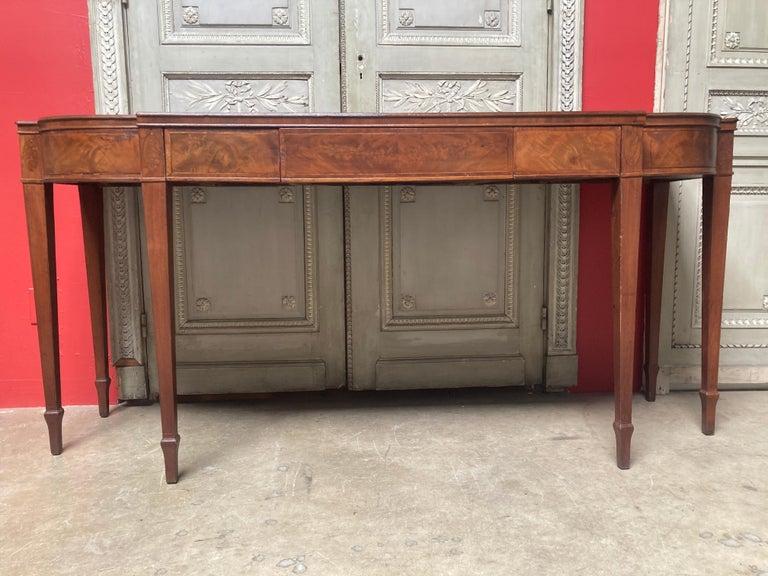 English George III Mahogany Sideboard For Sale 5