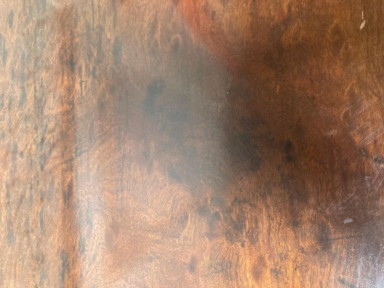English George III Mahogany Sideboard For Sale 1