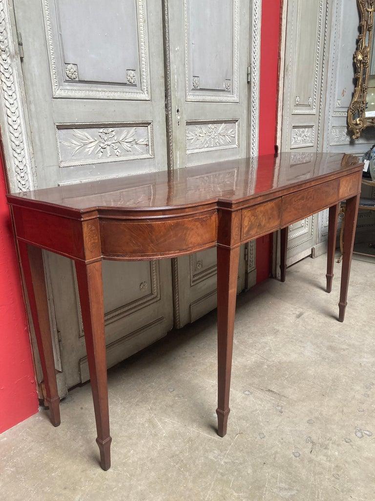 English George III Mahogany Sideboard For Sale 4