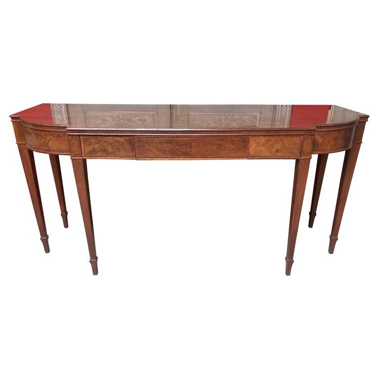 English George III Mahogany Sideboard For Sale