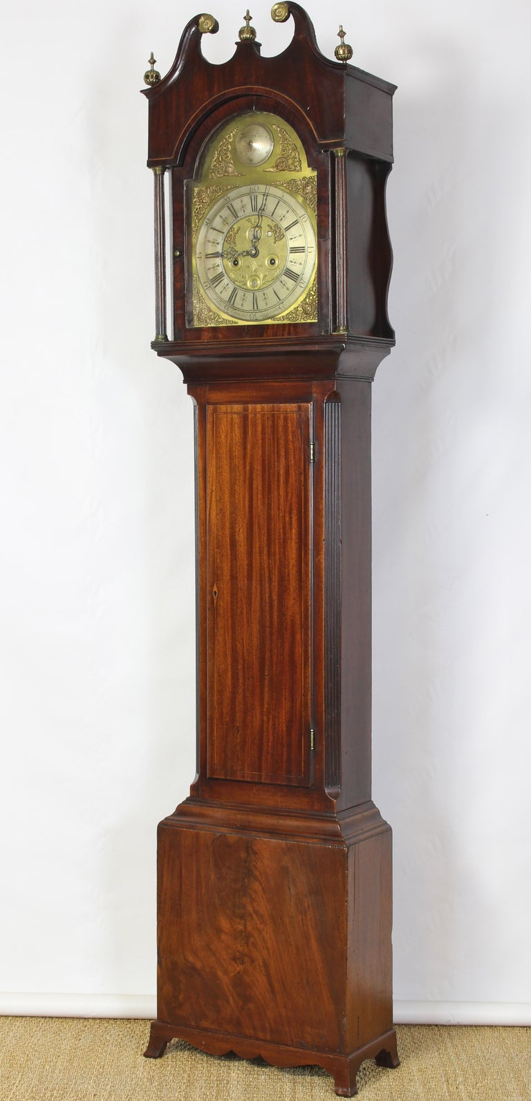from Ronin tall case clock dating