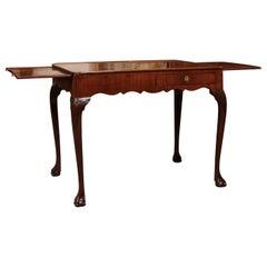 English George IIII Mahogany Tea Table, circa 1780