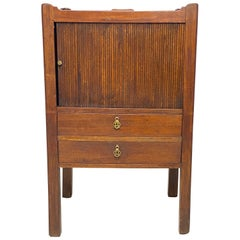 English Georgian 'George III' Mahogany Bedside Cabinet