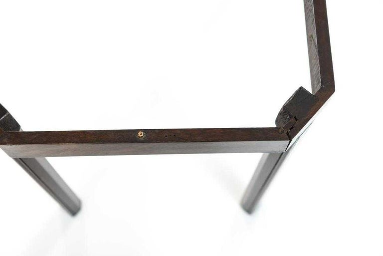 English Georgian Mahogany Butler Tray Table For Sale 2