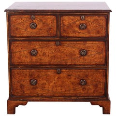 English Georgian-Revival Chest of Drawers