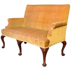 English Georgian Sofa circa 1810 George III Mahogany Settee