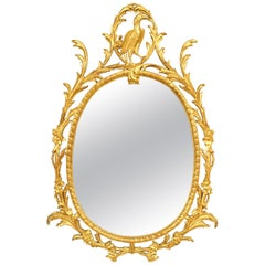 English Georgian Style '19th-20th Century' Gilt Wall Mirror